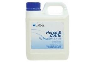 Battles horse & cattle fly repellent liquid - 1 litre