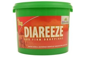 Global Herbs Diareeze 1kg - Clear, 1Kg