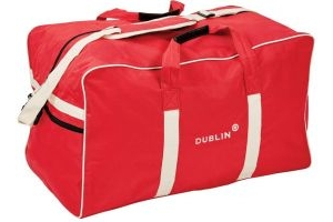 Dublin Imperial Hold All Bag Red/Cream