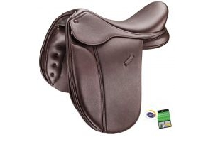 Bates Pony Show+ Saddle Classic Brown