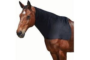 Weatherbeeta Stretch Neck Rug [Black, Pony]