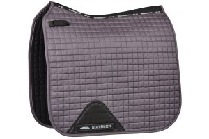 WeatherBeeta Prime Dressage Saddle Pad Grey