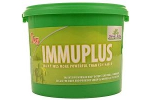 Global Herbs Unisex's Immuplus 1kg, Clear, 1 kg