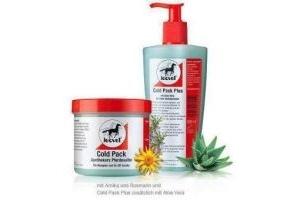 LEOVET COLD PACK Pharmacist Horse salve im Dispenser, 500 ml