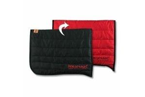 Horseware Rambo Horse Reversable Padded Saddle Pad Black/Red