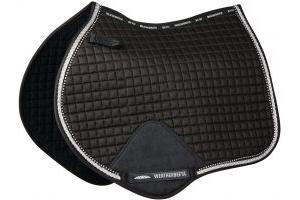 WeatherBeeta Prime Bling Jump Saddle Pad Black