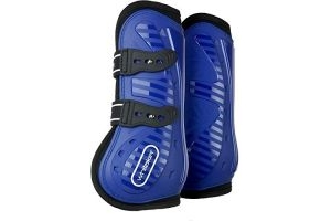 John Whitaker Bingley Tendon and Fetlock Boots Pony/Cob Navy