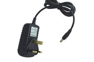 MyVolts UK power lead 12V plug compatible with Equilibrium Massage Pad Therapy Pad (Black or Navy)