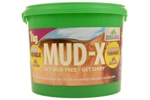 Global Herbs Unisex's Mud-x 1kg, Clear, 1 kg