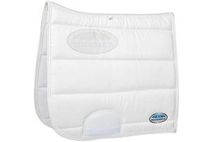 Weatherbeeta Elite Dressage Saddle Pad (Full) (White)