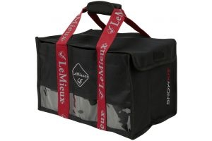 LeMieux Bandage Bag Black/Red
