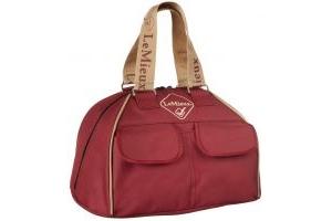 LeMieux Hat Bag Burgundy