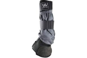 Woof Wear Mud Fever Turnout Therapy Horse Boot Medium Wide Black Grey