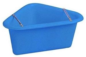 Stubbs Plastic Corner Manger (One Size) (Blue)