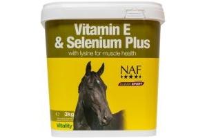 Naf Vitamin E Selenium & Lysine: 3kg