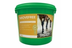 Global Herbs Movefree Maintenance, Horse Supplements - 1kg Tub