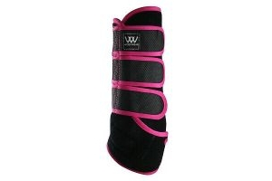 Woof Wear Dressage Wraps Berry Pink Large