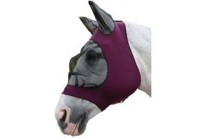 Roma Stretch Eye Saver With Ears Purple/Black
