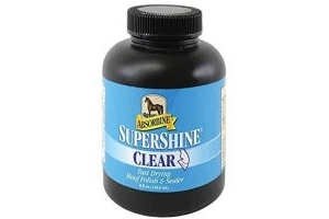 Absorbine Supershine Hoof Oil 237ml Clear