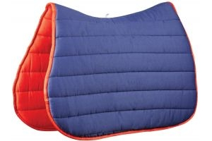 Roma Reversible Softie All Purpose Saddle Pad Navy/Red