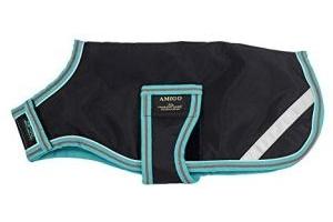 Horseware Amigo Dog Coat 100g Black/Teal&Dark Cherry Large