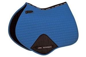 Weatherbeeta Prime Jump Shaped Saddle Pad - Royal Blue - Breathable - Jump Saddle Pad