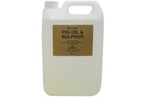 Gold Label Pig Oil & Sulphur 5L