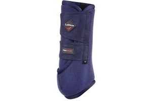 LeMieux Unisex's ProSport Support Boots Pair, Navy, X-Small
