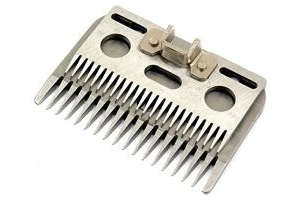 Wolseley A6 Coarse Clipper Blade Clipping Height - 3-4mm in Blister Pack Compatible with Liscop-Liveryman & Hauptner Electric 3000 Clippers AND Tigerbox® Antibacterial Pen.