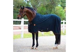 Horseware Ireland Rambo Ionic Stable Sheet [Black/Black] [5'6
