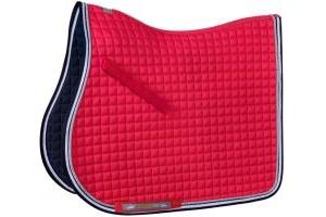 Schockemohle Neo Star Jump Saddle Pad Strawberry