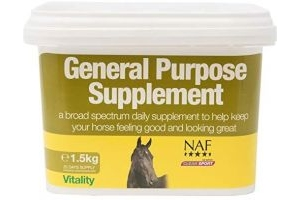 Natural Animal Feeds Naf General Purpose Supplement 1.5kg - Clear, 1.5Kg