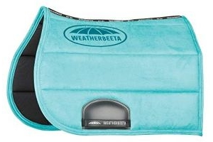 Weatherbeeta Elite All Purpose Saddle Pad Full Size Turquoise
