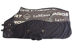 LeMieux Unisex's Carbon Cooler Rug Horse, Black, 6'9