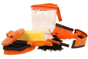 Roma Cylinder Grooming Kit 9 Piece Orange