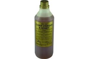 Gold Label Unisex's GLD1435 Cider Vinegar and Honey, Clear, 1 Litre