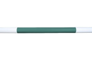 Classic Showjumps 3 Band Jump Pole Forest Green