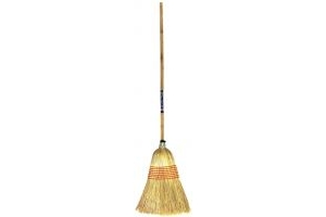 Faulks Corn Broom Large