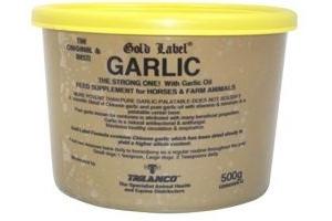 Gold Label supplement, Garlic