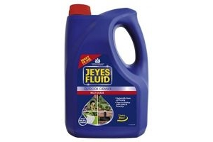 Jeyes Fluid Ready-To-Use Outdoor Cleaner & Disinfectant for Paths, Patios, Driveways & Pet Housing, 4 Litre