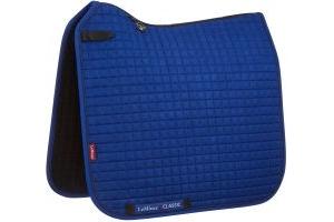 LeMieux ProSport Classic Dressage Square Saddle Pad Benetton Blue/Navy