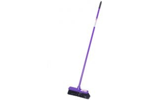 Red Gorilla Short Handled 30cm Broom: Purple