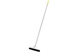 Red Gorilla Poly Scrub Broom Yellow