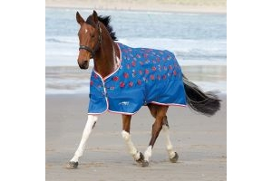 Shires Tempest Original 0g Lite Weight Standard Neck Turnout Rug Ladybird Print