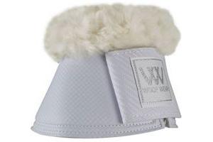 Woof Wear Pro Overreach Sheepskin Boots White - Professional standard durable 7mm neoprene overreach boot