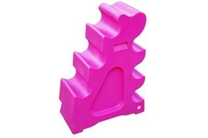 Classic Showjumps Pro-Jump Horse Sloping Jump Block Practice Jumping Pink