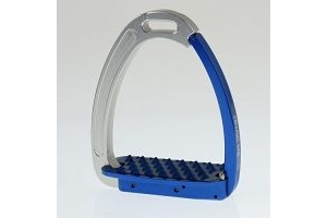 Tech Venice Adult Safety Stirrups - All Colours (Silver/Blue)