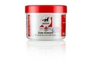Leovet Silver Ointment for Horses and Ponies 150ml - Germicidal effect & Suppressed bacterial growth - Ideal for Mauke - Contains Colloidal Silver