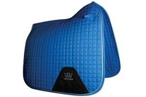 Woof Wear Contour Dressage Saddle Pad Electric Blue