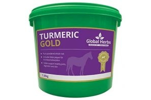 Global Herb Turmeric Gold Pure Powdered Whole Turmeric Root and Black Pepper